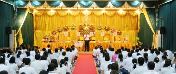 กิจกรรม 1 : บรรยายธรรมโดยท่านอ.ษิริพงศ์ ทุกวันเสาร์ ณ มูลนิธิพิสูจน์ธรรม